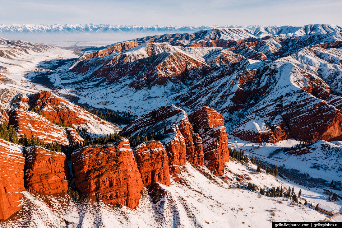 Зимний Кыргызстан — страна фантастических гор