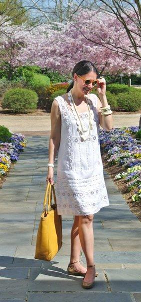Платье на лето для женщины в 50 лет + с чем носить
