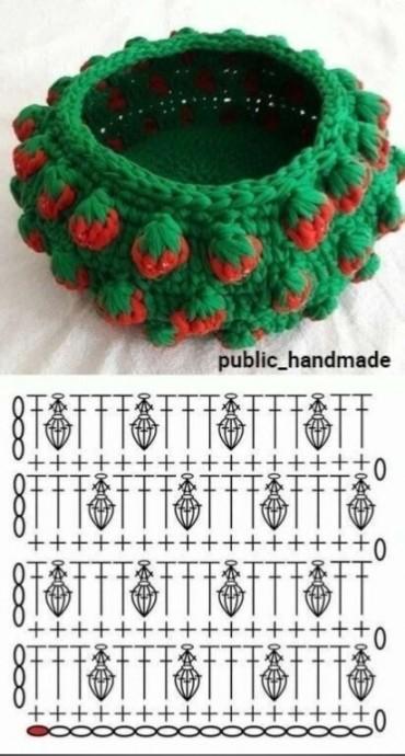 Корзинки крючком вязание,для дома и дачи