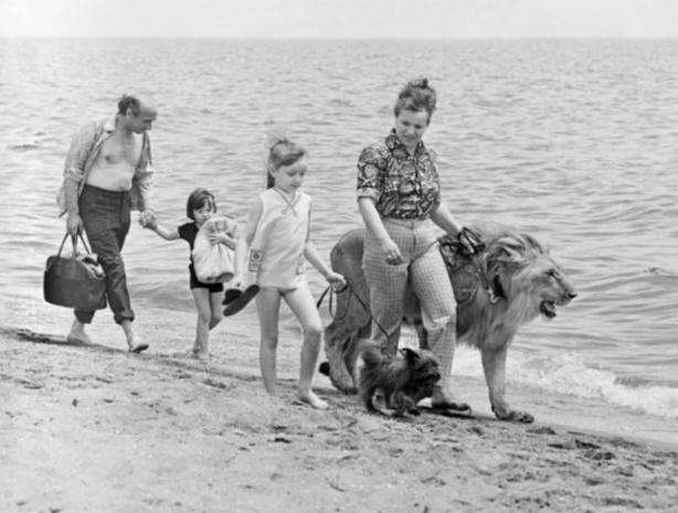 Простая советская семья в 70-ых решила завести у себя дома льва. И вот Как сложилась их судьба спустя время