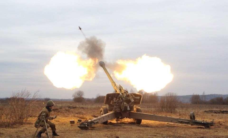 Украинские каратели совершили очередной обстрел на Донбассе