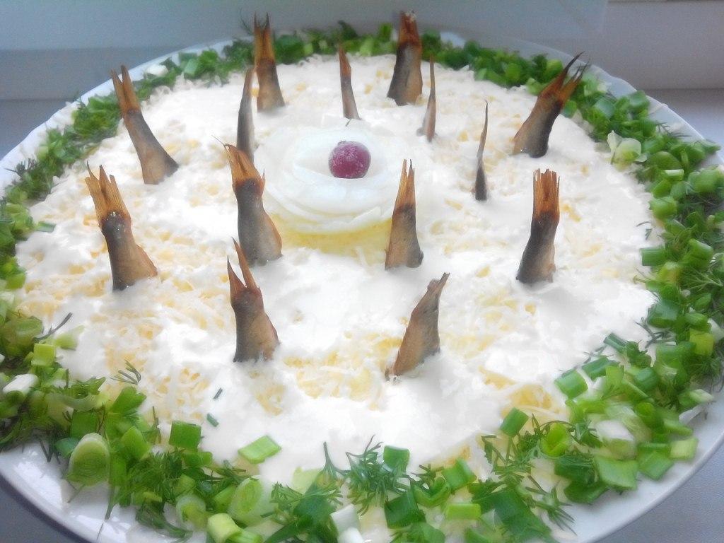 Обалденный салат из шпрот ,,…