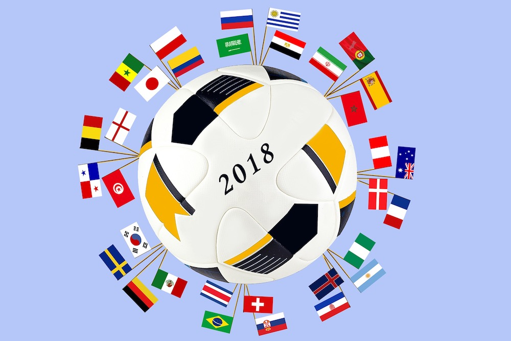 картинки все флаги футбола