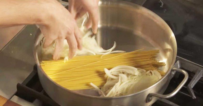 Паста с отличным соусом за 15 минут