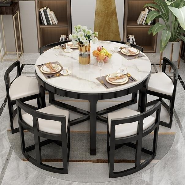 Идеально сочетание стола и стульев!