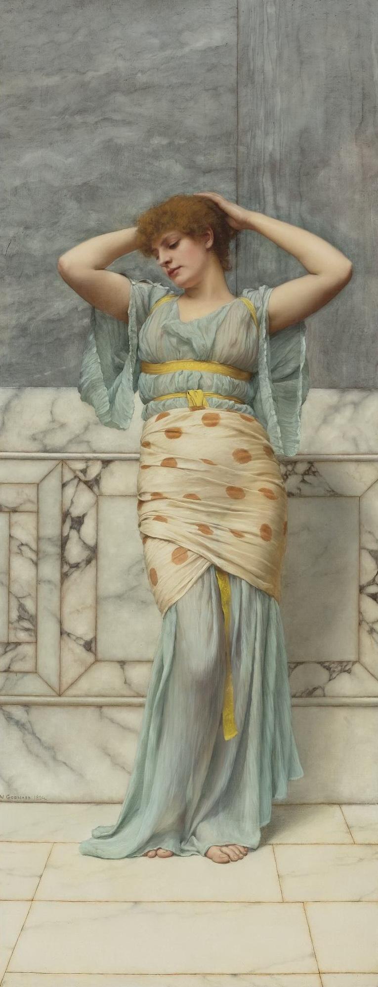 1894_Красавица в мраморной комнате (127 х 80 см) (ч.с.)