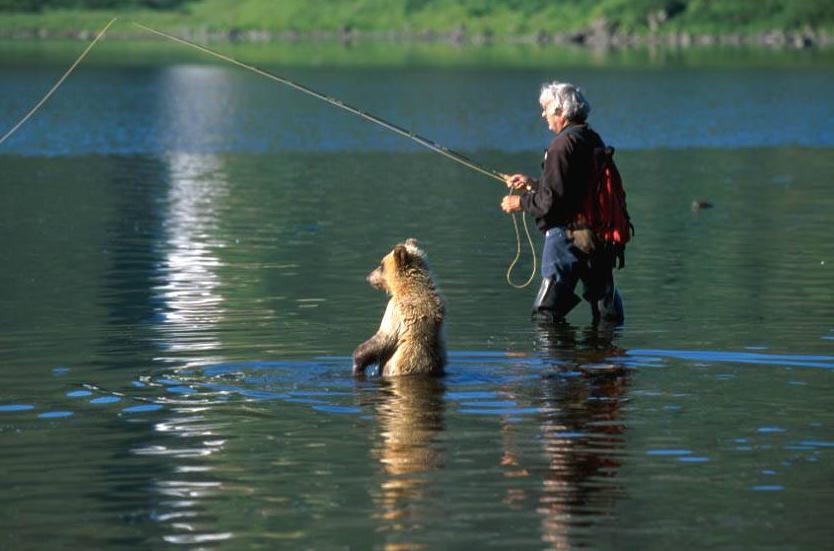 #Рыбалка могла быть Последней!!! Встреча с Медведем...