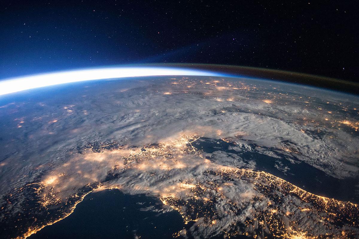 Новые фото Земли из космоса: рекордная экспедиция на борту МКС
