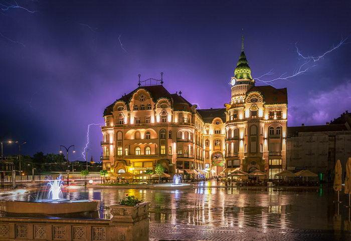 Гроза в Румынии: фото Adam Freundlich