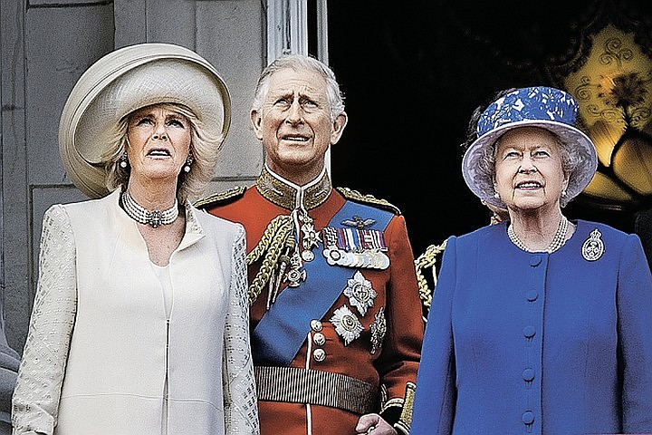 Принц Чарльз с супругой посетили Солсбери