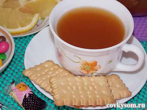 Имбирный чай с лимоном и медом