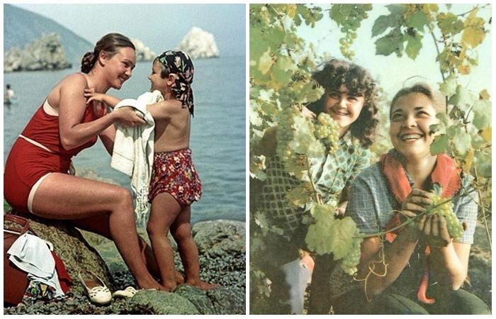 Советские женщины на фото современников.