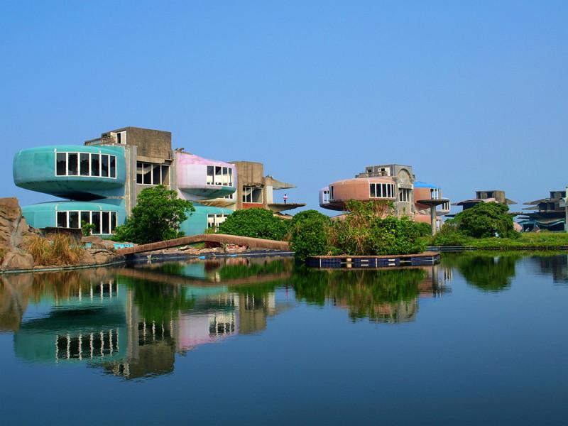22. Заброшенный курортный город Санчьжи, Тайвань города-призраки, заброшенные города, загадки, тайны, фото