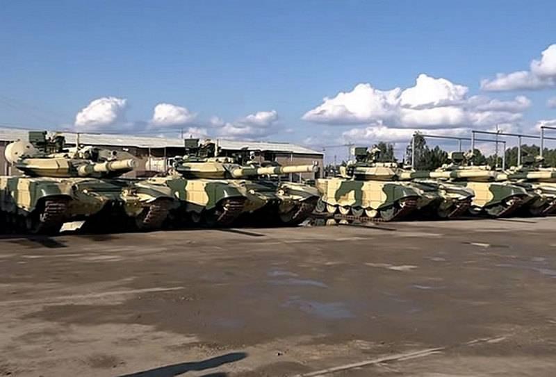 Иракская армия получила четвёртую партию российских танков Т-90С