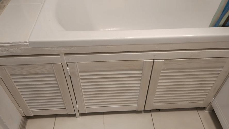 Эффективный и бюджетный способ обшить ванну