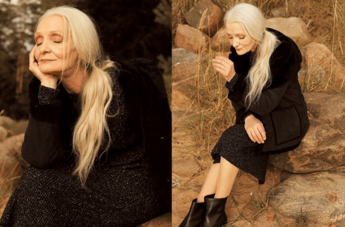 У красоты нет возраста: 62-летняя модель Валентина Ясень