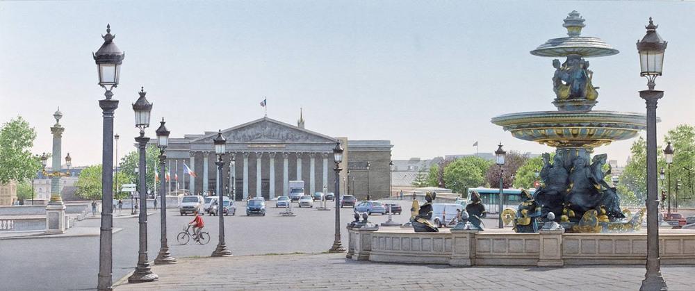 «И дух Парижа навсегда Останется в сердцах и душах!»  Акварели Тьерри Дюваля