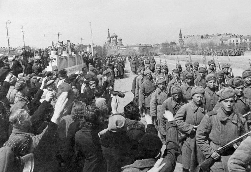 Москва. 1943 г. интересно, история, фото