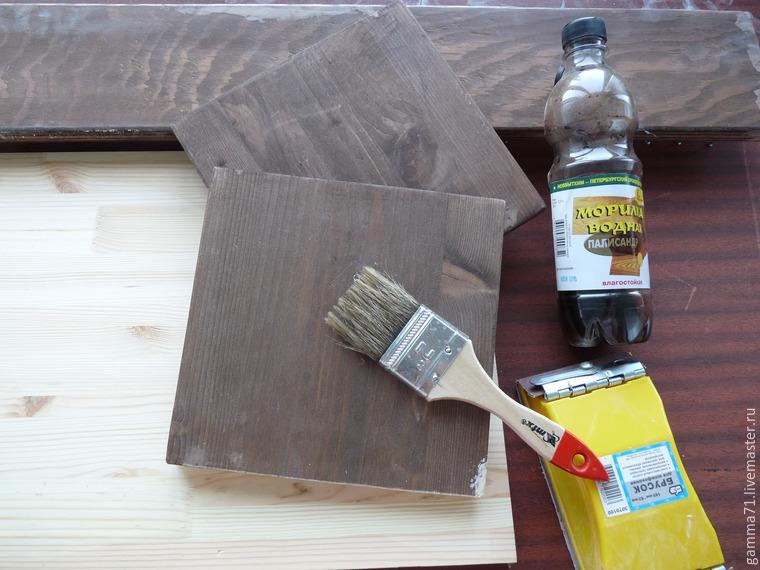 деревянная полка