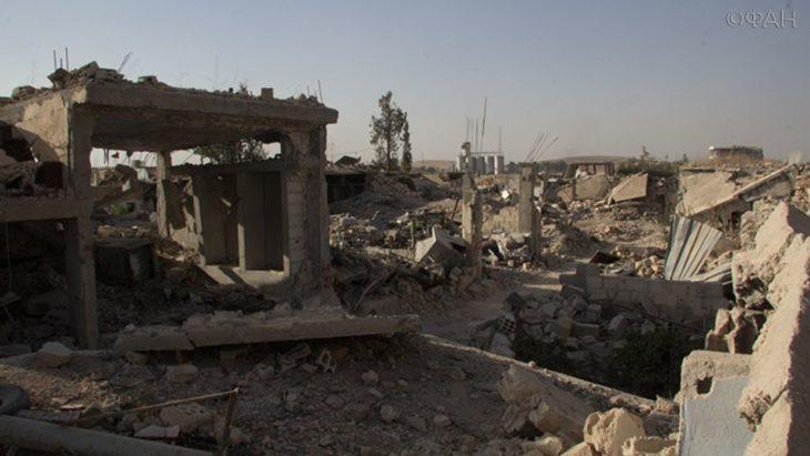Последние новости Сирии. Сегодня 23 октября 2018