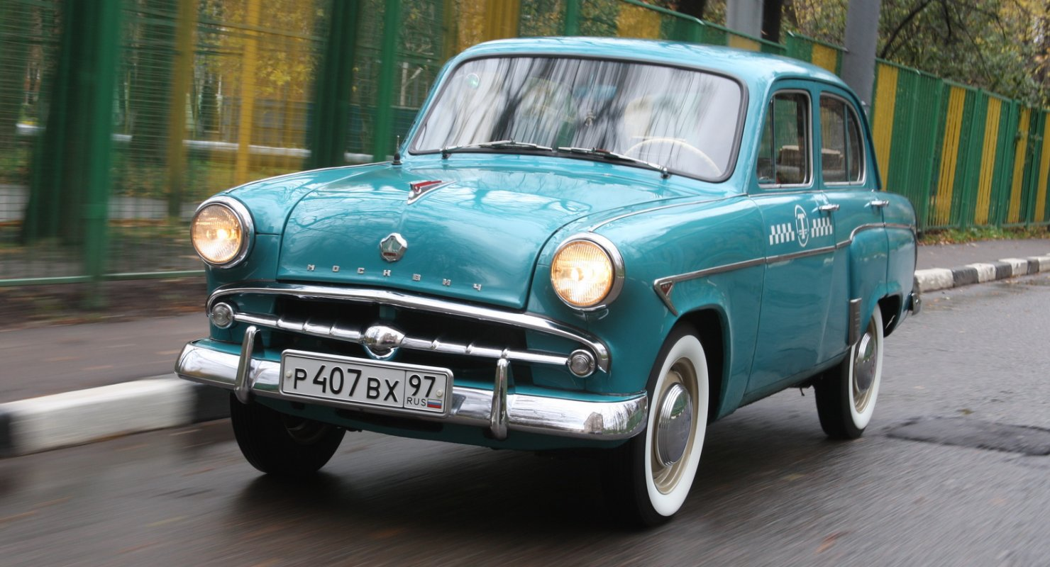 Советские легковые автомобили и мотоциклы, которые пользовались спросом за пределами СССР Автомобили