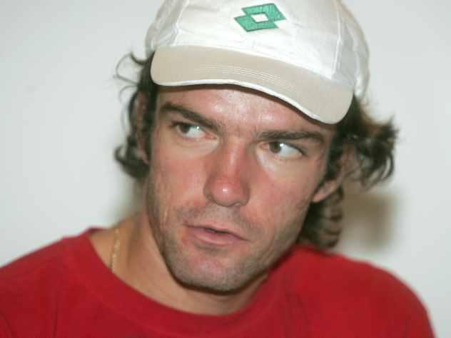 Теннисист Теймураз Габашвили…