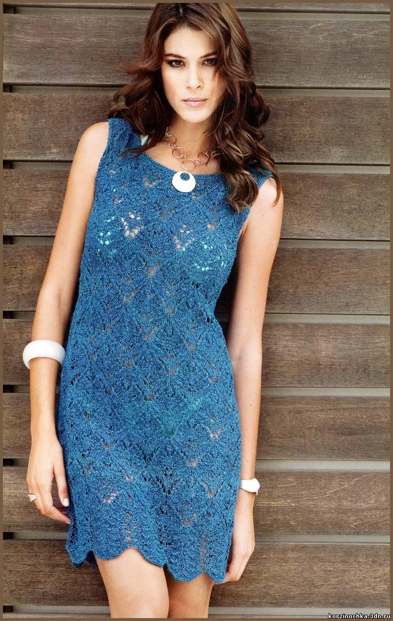Изысканное кружевное платье