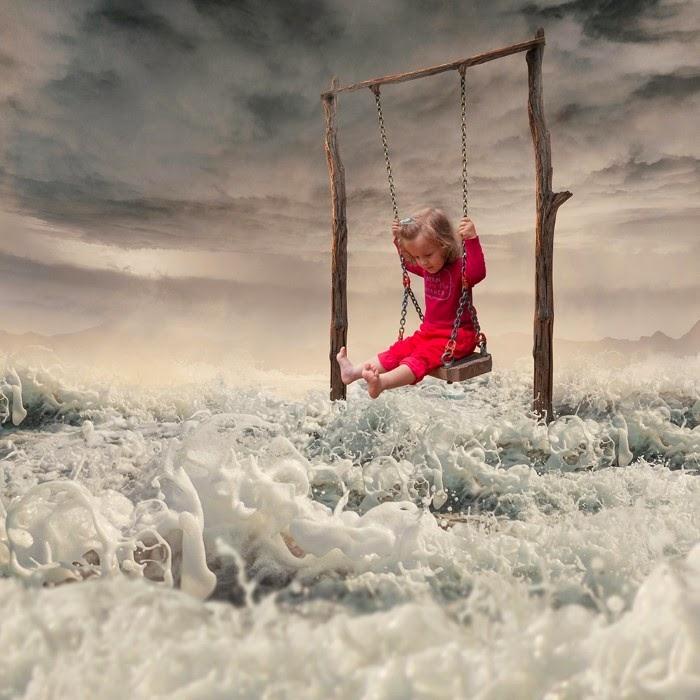 Воплощая сны в реальность: потрясающие фотоиллюстрации от Караша Йонуц