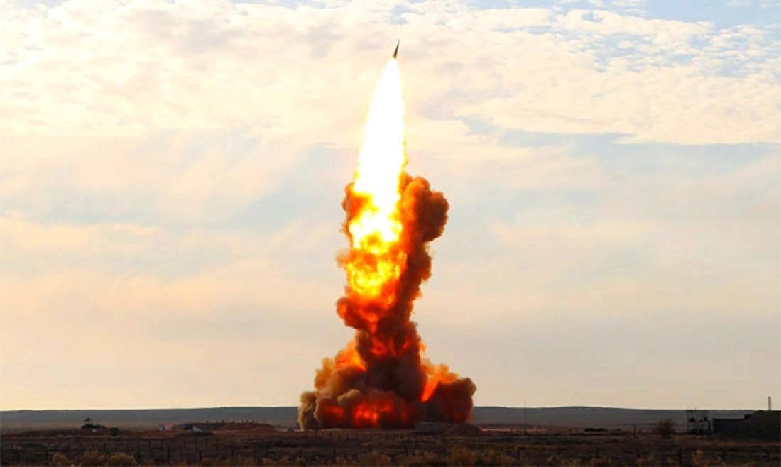 """Запуск ракеты """"Нудоль"""". Источник изображения: https://vk.com/denis_siniy"""