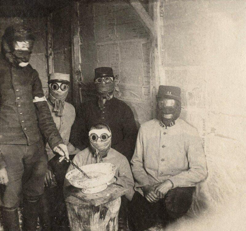 Подготовка к газовой атаке в Брас-Сюр-Маасе, Франция, май 1915 года. жизнь, прошлое, ситуация, факт
