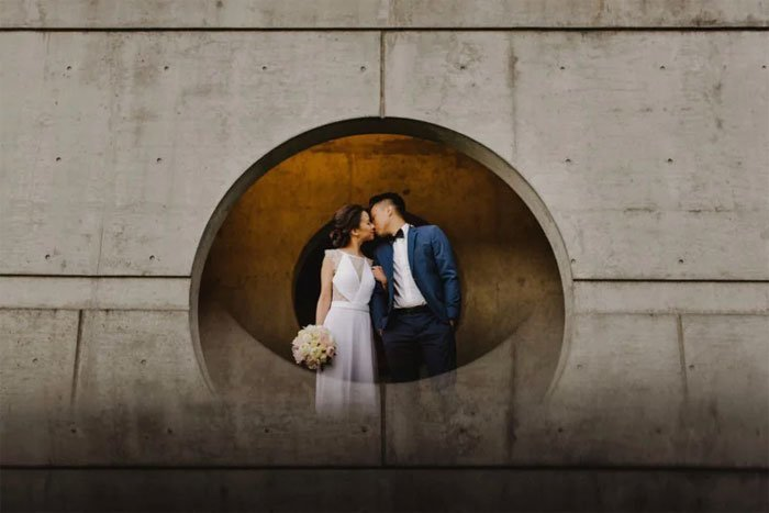 Свадебный фотограф поделился ошеломляюще простым трюком