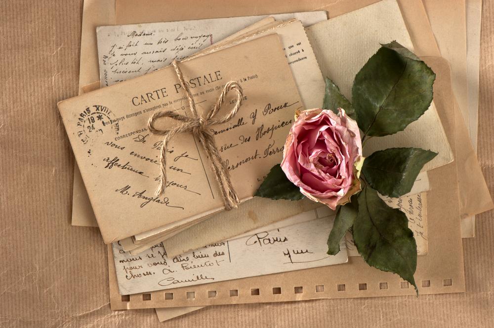 Маме день, письма с открытками