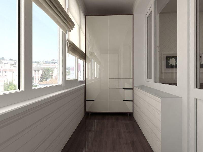 Шкаф на балкон: удачный выбо…