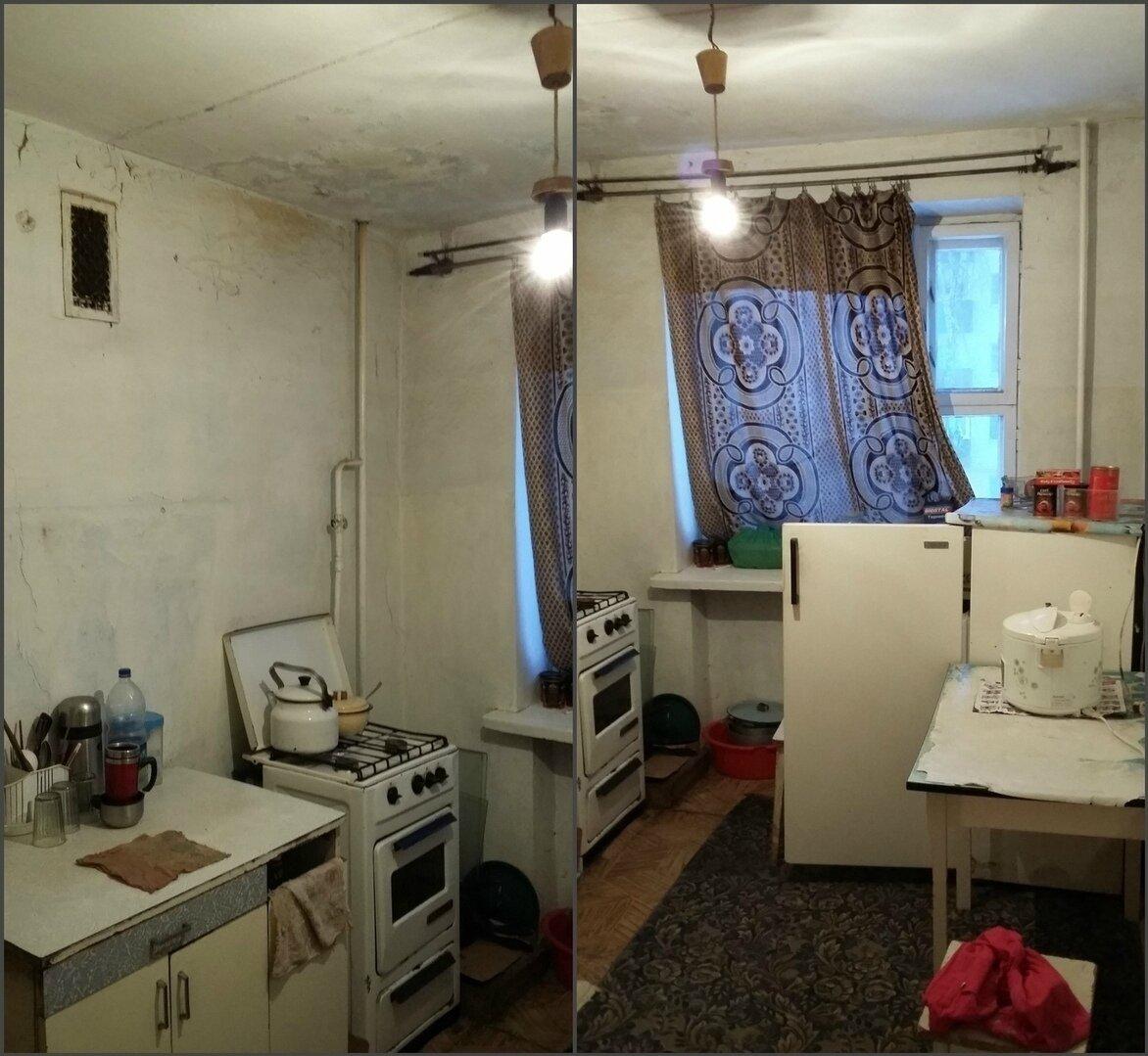 До и После. Капитальный ремонт квартиры, которая была в ужасном состоянии. Преображение интерьера до неузнаваемости