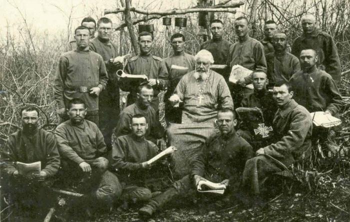 Русские священники на войне