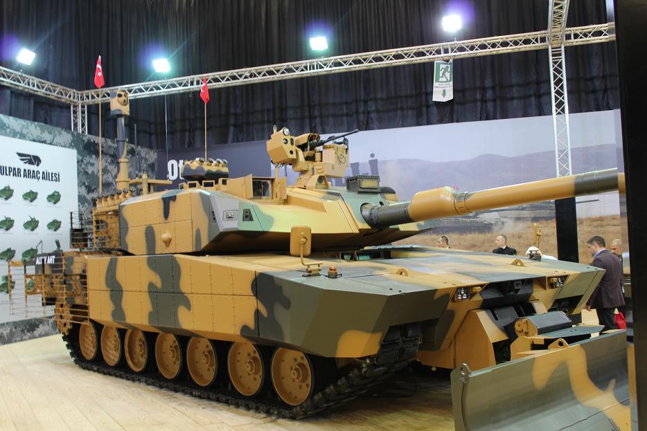 Украина будет поставлять Турции двигатели для танка Altay?