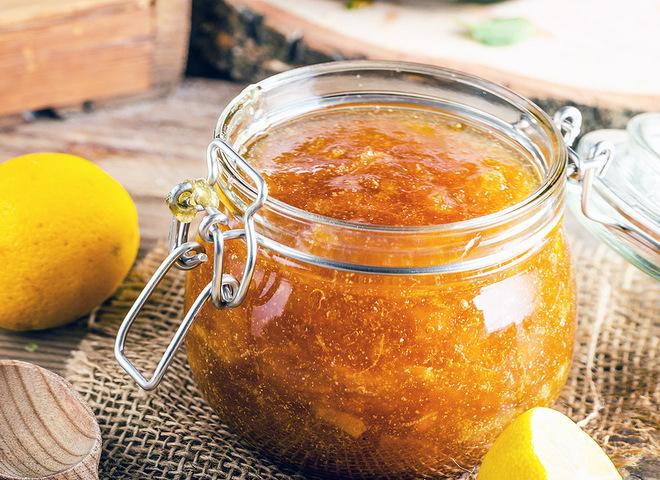 Морковное варенье с лимоном
