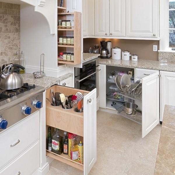 Кухня с системой хранения под заказ