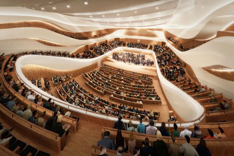 В Зарядье открылся концертный зал
