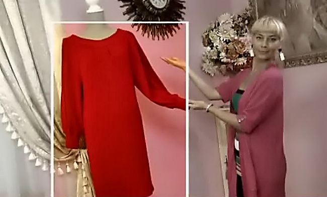 Сшить платье с ольгой никишичевой для полных 115