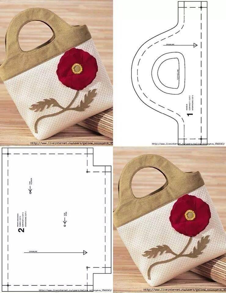 Моделирование вместительных сумочек из ткани 6