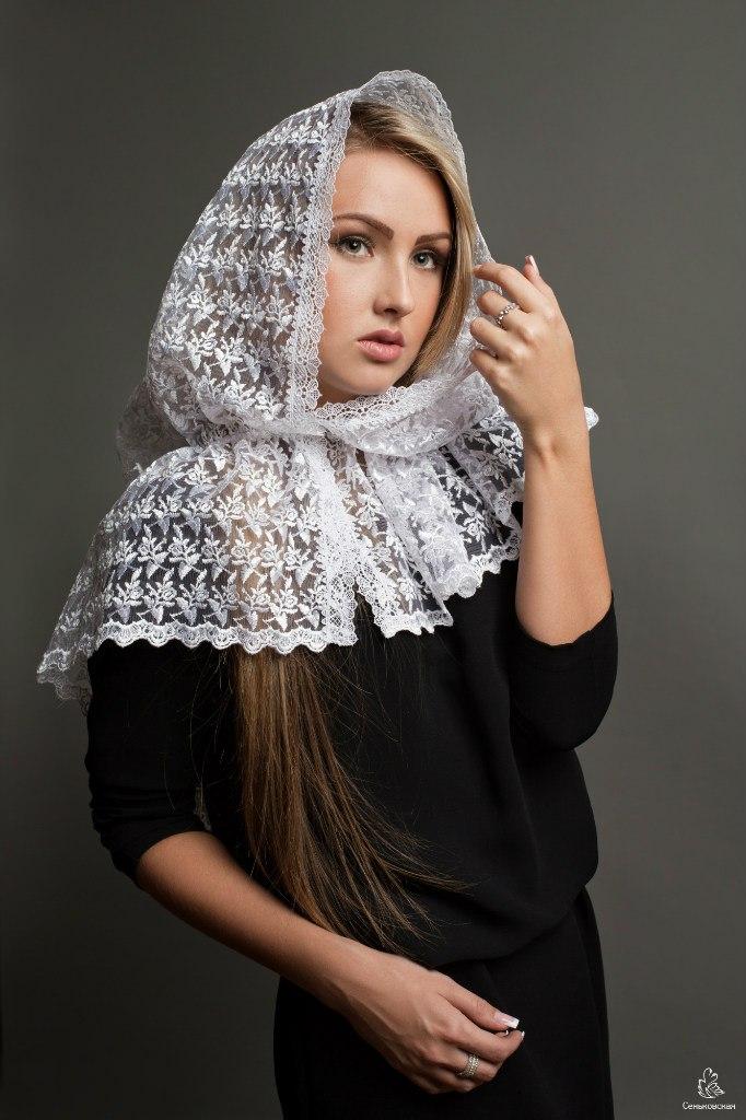 Из чего сшить платок на голову