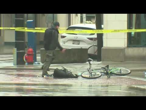 В США велосипедиста задержали за быстрое «разминирование» подозрительного рюкзака