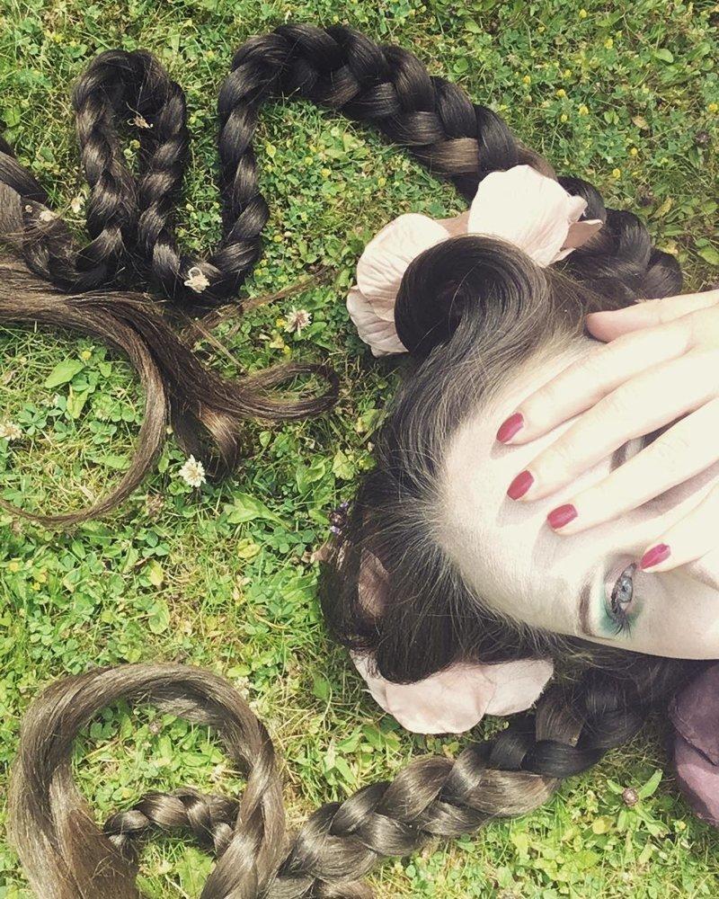 Британская «Рапунцель» вот уже 20 лет не моет свои волосы Фрэнки Клуни, в мире, волосы, люди, рапунцель, уход