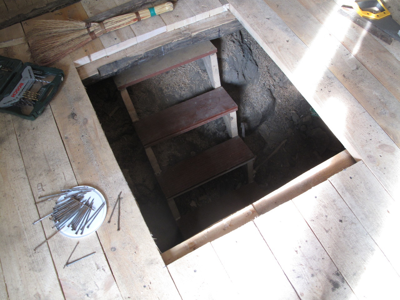 Ремонт домика в деревне - часть 2