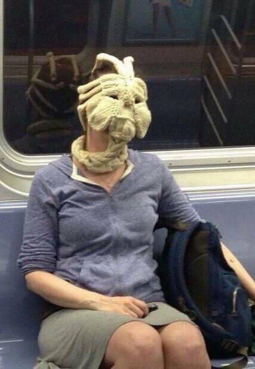 Лицехват в метро