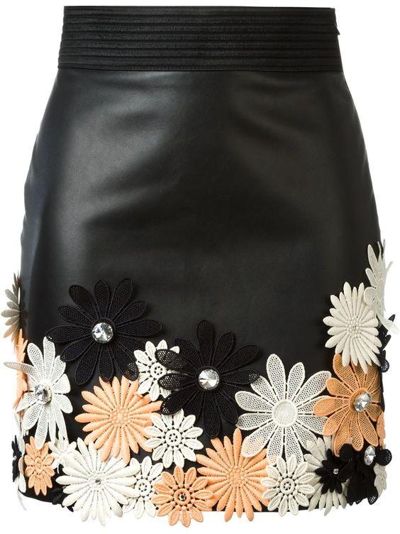 Emanuel Ungaro мини-юбка