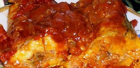 Заливная рыба в томате рыбные блюда