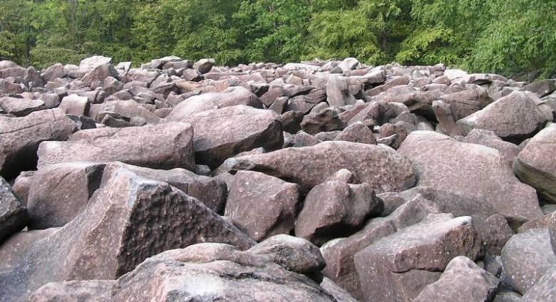Загадка природы: Звенящие камни Пенсильвании
