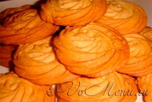 Рассыпчатое печенье «Капучино»